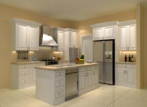 Arlington Oatmeal Cabinets