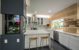 Aquarium Kitchen by 361 Cabinets