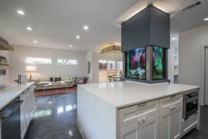 Aquarium Kitch by 361 Cabinets